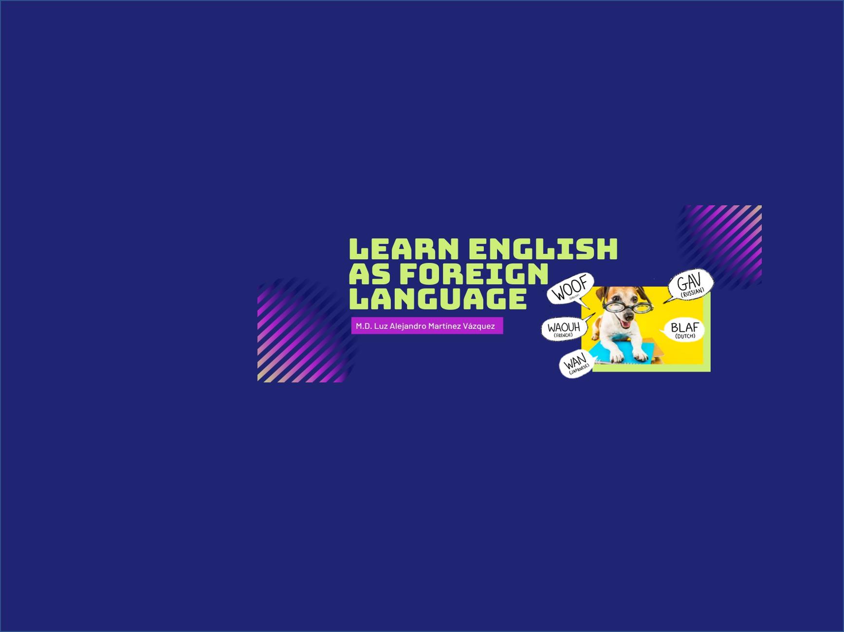 Aprender inglés como lengua extranjera